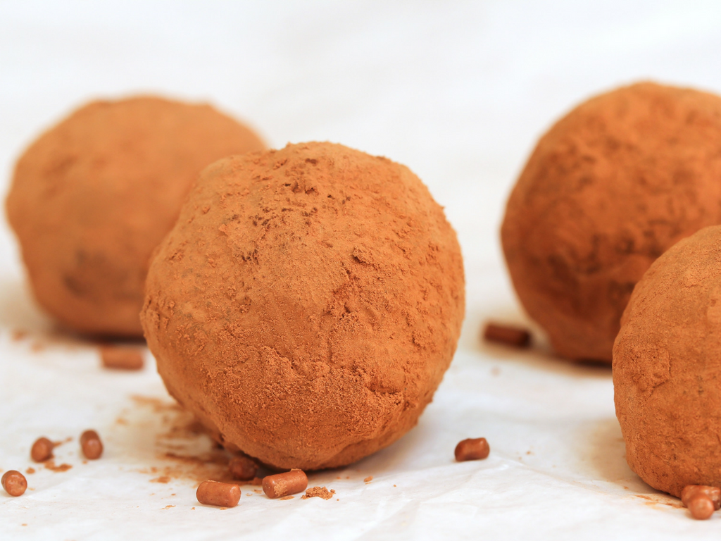 I Don't Want to Tell You What to Eat But…Chèvre Chocolate Truffles.